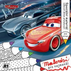 Obrázek omalovánka Cars 3 - Malování pro nejmenší