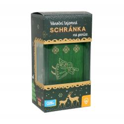 Obrázek ALBI Vánoční tajemná schránka - Zelená