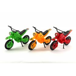 Obrázek Motorka plast 20cm - 3 farby