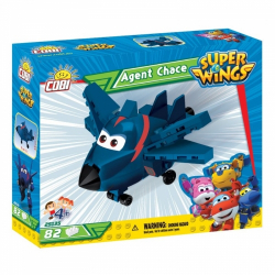 Obrázek Cobi 25135  Super Wings Agent Chase 82 k