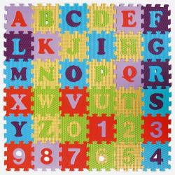 Obrázek Pěnové puzzle 36 ks 15x15x1cm, abceda