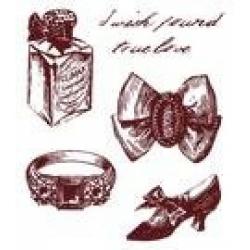 Obrázek Gelová razítka - Střevíc,prsten