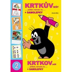 Obrázek Omalovánka A4 book Krtkův sešit a samolepky