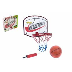 Obrázek Basketbalový koš + míč s pumpičkou