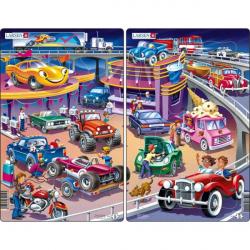 Obrázek Puzzle Auta - cars 15 dílků