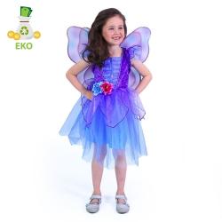 Obrázek Dětský kostým fialová víla (S) EKO