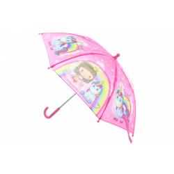 Obrázek Deštník Princezna s jednorožcem manuální