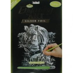 Obrázek Vyškrabovací obrázek- Nosorožci