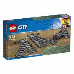 Obrázek LEGO<sup><small>®</small></sup> City 60238 - Výhybky