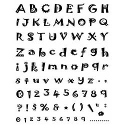 Obrázek Razítka gelová - Gelová razítka- abeceda