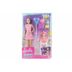 Obrázek Barbie Chůva herní set - narozeniny GRP40