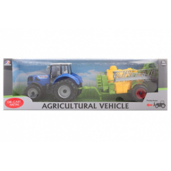 Obrázek Traktor s postřikovačem