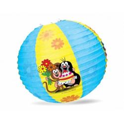 Obrázek Lampion kulatý Krteček 30cm v sáčku karneval