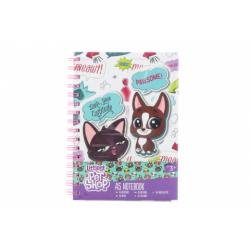 Obrázek Littlest Pet Shop zápisník A5