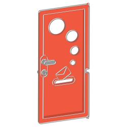 Obrázek Dveře k domečku