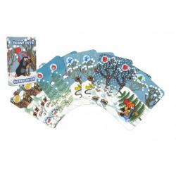 Obrázek Černý Petr Krtek společenská hra - karty v papírové krabičce 6x9cm