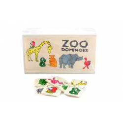 Obrázek Drevené domino zoo