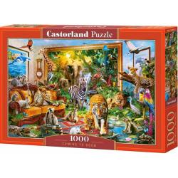 Obrázek Puzzle Castorland 1000 dílků - Džungle v pokoji