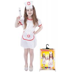 Obrázek karnevalový kostým sestřička, vel. M
