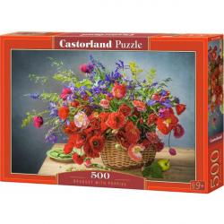 Obrázek Puzzle Castorland 500 dílků - Maková kytice