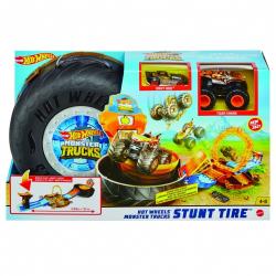 Obrázek Hot Wheels Monster trucks kaskadérské kousky herní set