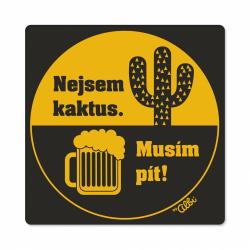 Obrázek Pánské humorné tričko - Kaktus, vel. L