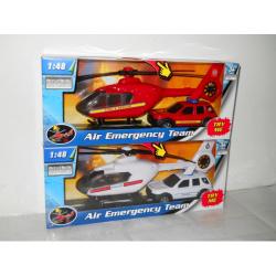 Obrázek 1:48 Záchranáři Auto a Vrtulník 2ass