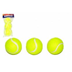 Obrázek Tenisové míčky 3ks v sáčku 11x26cm
