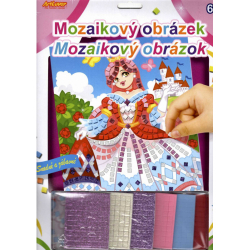 Obrázek Mozaikový obrázek - Popelka