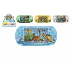 Obrázek Vodní hra plast hlavolam dinosaurus 16cm asst 4 barvy 24ks v boxu