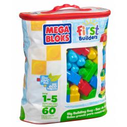 Obrázek Megabloks Kostky v plastovém pytli, 60 dílů