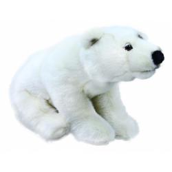 Obrázek plyšový medvěd polární, 30 cm