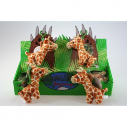 Obrázek Plyš Žirafa klíčenka 24/bal