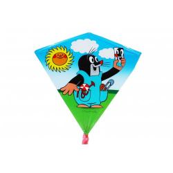 Obrázek Drak létající Krtek plast 68x73cm -