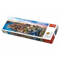 Obrázek Puzzle Porto, Portugalsko panoráma 500 dielikov 66x23,7cm