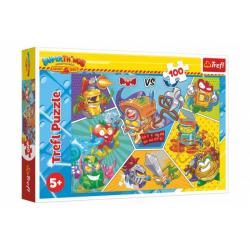 Obrázek Puzzle Špioni v akci 100 dílků 41x27,5cm v krabici 29x19x4cm