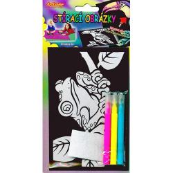 Obrázek Stírací obrázky na blistru, v balení 48 ks, zadejte počet kusů, cena je za 1ks