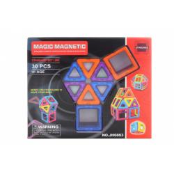 Obrázek Magnetická stavebnice 30 ks