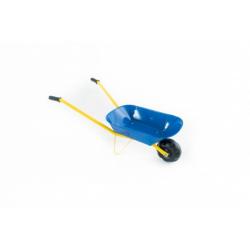 Obrázek Kolečko plechové modré 75x30x40cm v sáčku