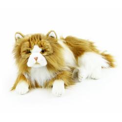 Obrázek plyšová kočka perská dvojbarevná  25 cm