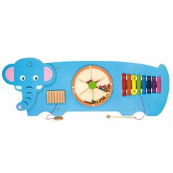 Obrázek Dřevěná nástěnná hra - slon