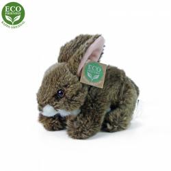 Obrázek Plyšový králík hnědý ležící 17 cm ECO-FRIENDLY