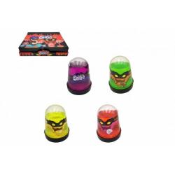 Obrázek Sliz - hmota 100g 6x8cm mix barev v plastovém kuželu 20ks v boxu