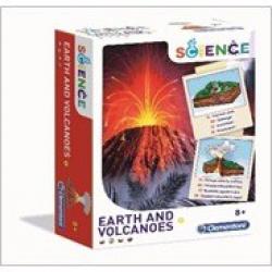 Obrázek Země a vulkány