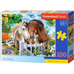 Obrázek Puzzle Castorland 100 dílků premium - Nejlepší přátelé