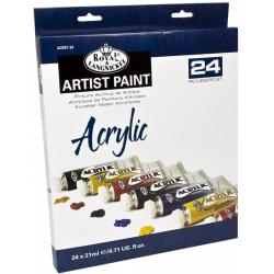Obrázek ROYAL and LANGNICKEL Akrylové barvy 24 ks á 21 ml