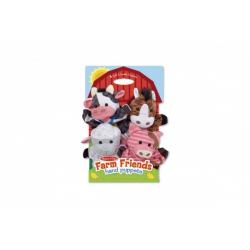 Obrázek Maňušky domáci farma 23cm 4ks na karte v sáčku