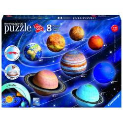 Obrázek Puzzle 3D Planetární soustava 522 dílků 3D
