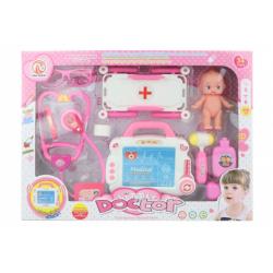 Obrázek Doktorská sada na baterie s miminkem