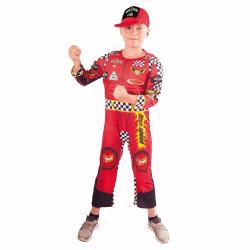 Obrázek Dětský kostým závodník (S)
